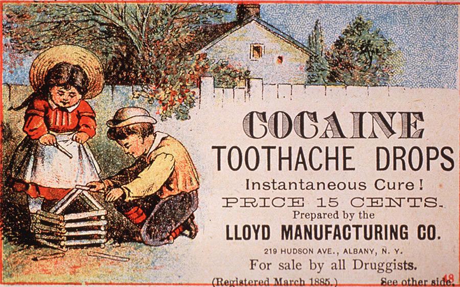Cocaine Cough Drop