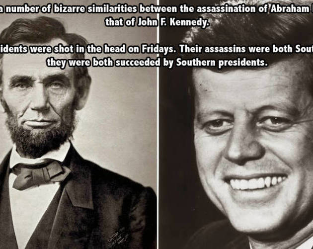 Lincoln Kennedy Assassinations
