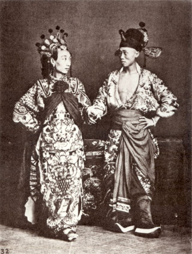 Qing Dynasty: 33 Rare Portrait Photos of Chinese People in ... | 640 x 845 jpeg 110kB