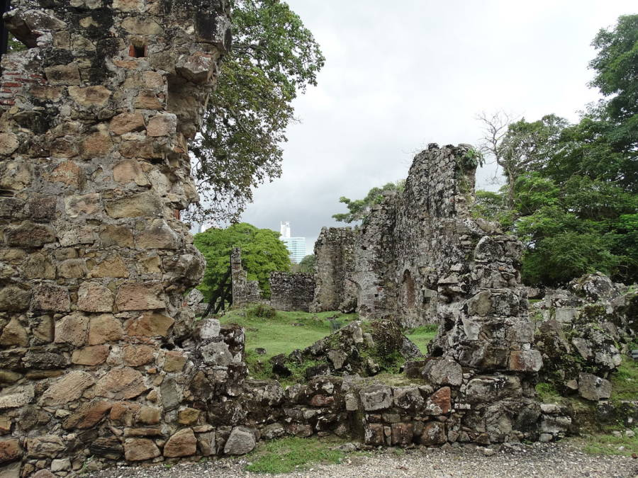 Ruins Panama City