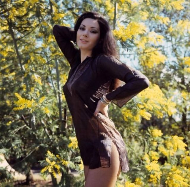 The Goddess of Giallo: Stunning Color Photos of Young ...
