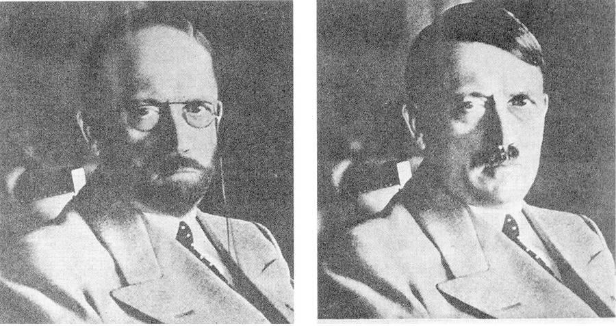 FBI Rendering Of Hitler Disguise