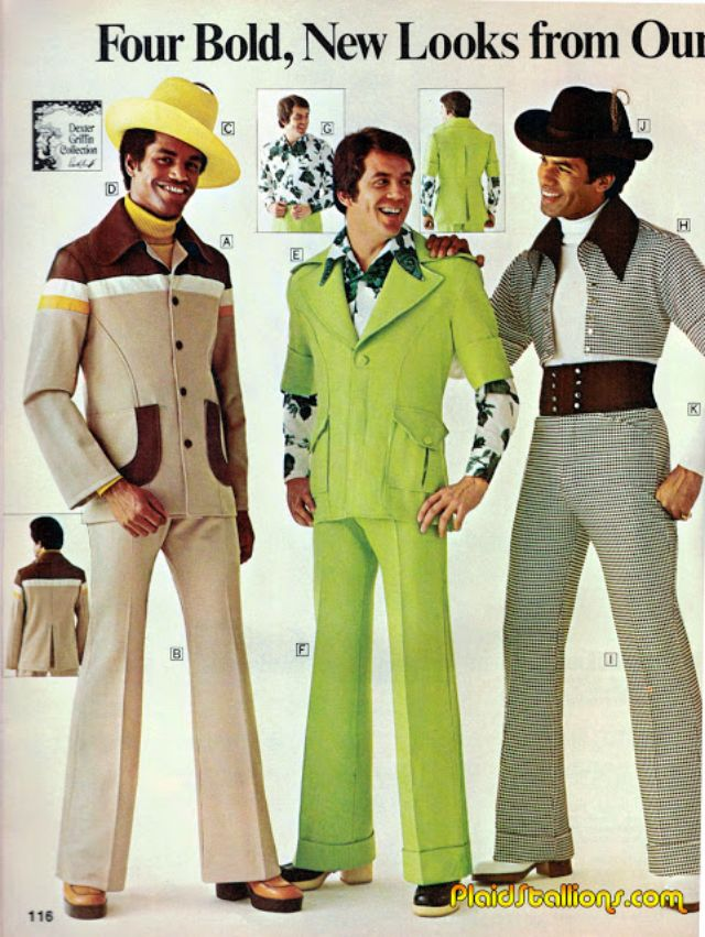 In The 1970s Real Men Wore Flared Trousers And Flowery T Shirts How