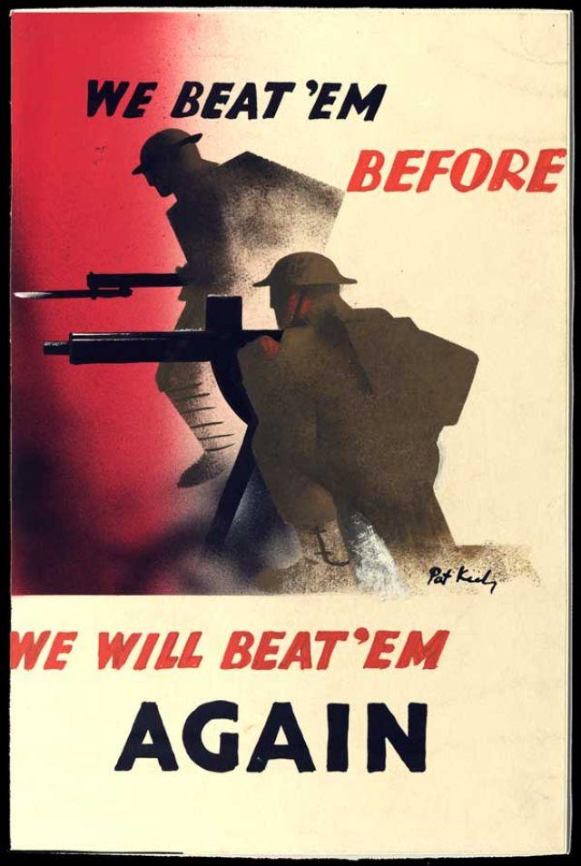 WWII British propaganda poster War Military Ww2 propaganda