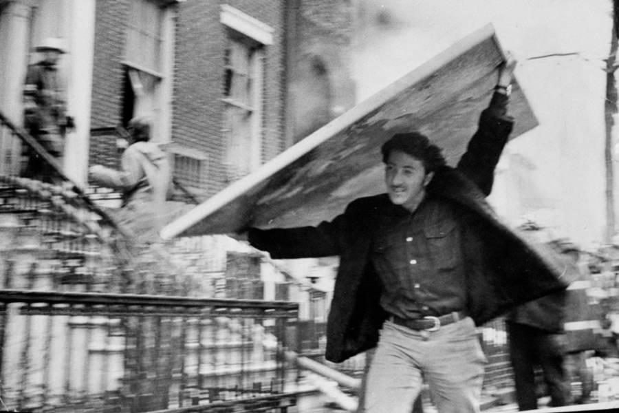 Dustin Hoffman Weathermen Bombing