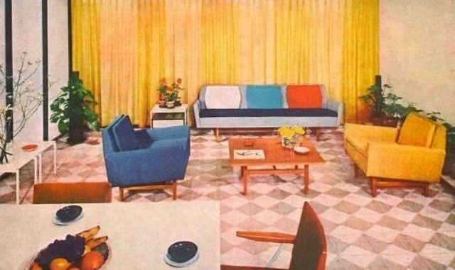 Mid-Century Modern Home, Design Inspiration of the 1940s, 1950s, and ...