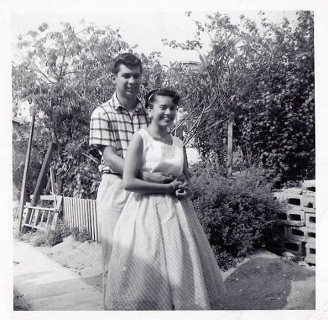 1950s dating dress