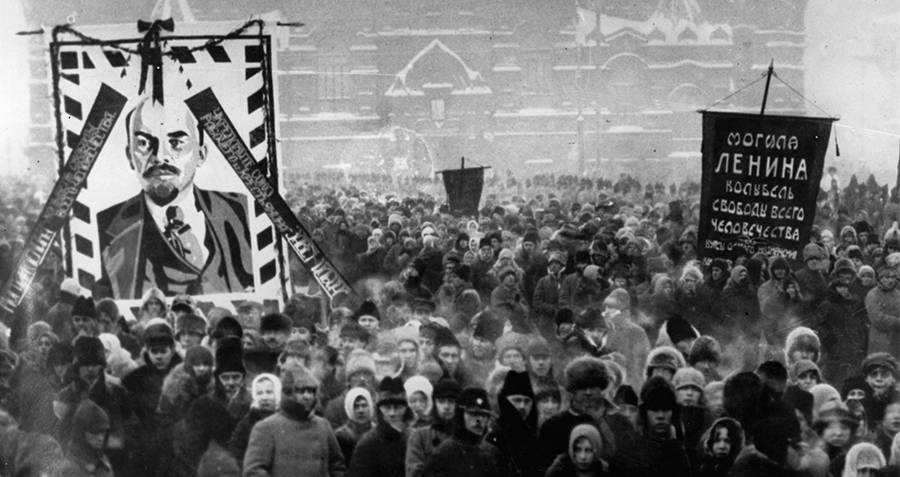 Lenin Funeral
