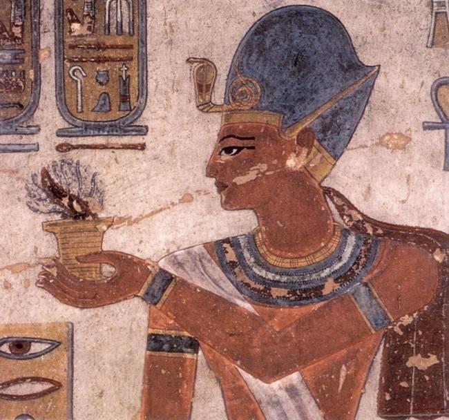 Ramses III Painting