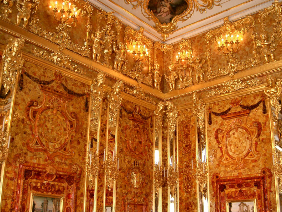 Russia Amber Room