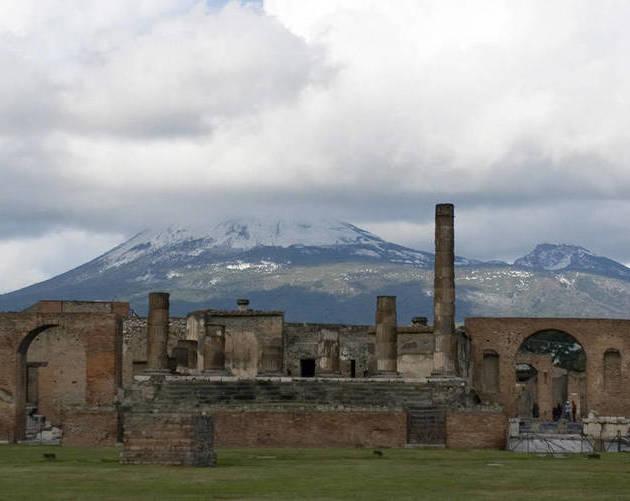 Archaeological Sites Pompeii Mt