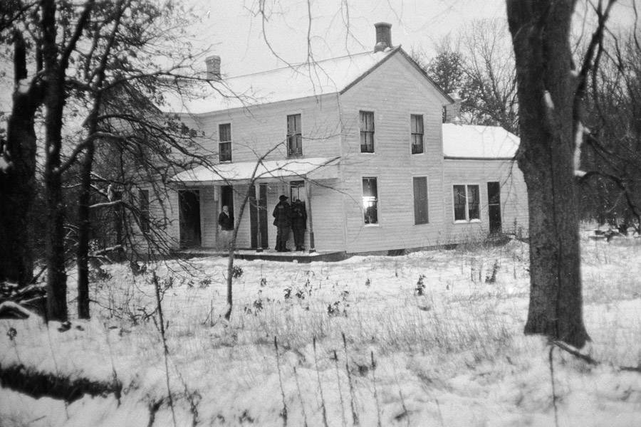 Edward Gein Home Winter