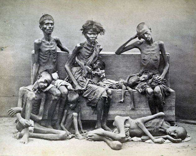 Holodomor Starving Family