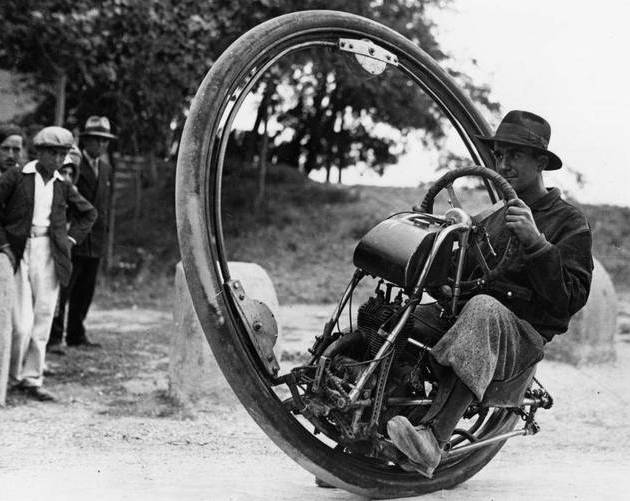 One Wheel Motorcycle