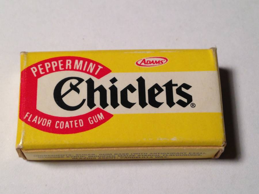 Pack Of Chiclets