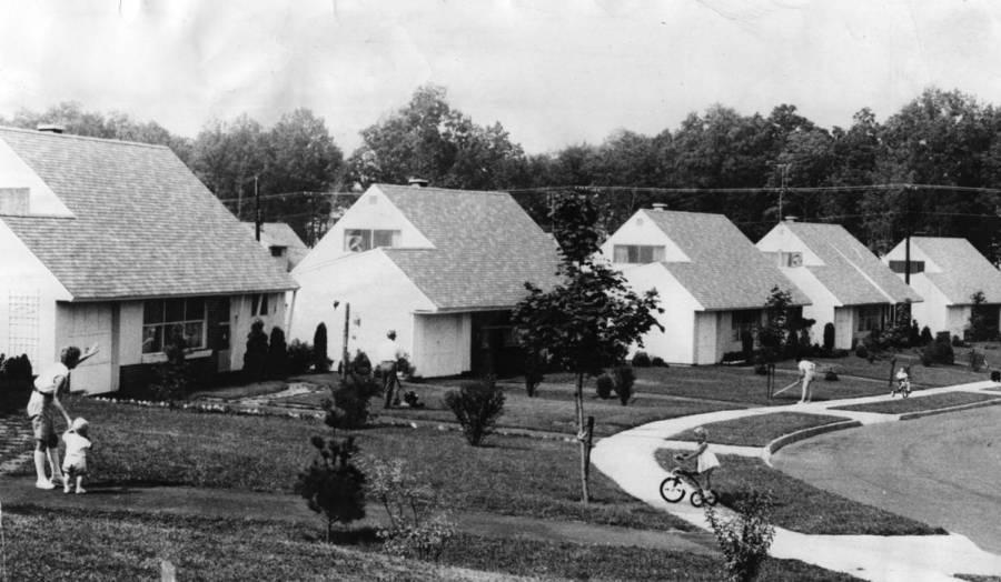 William Levitt Xerox Houses