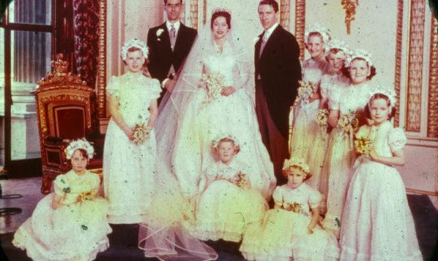 Princess Margaret Wedding.Rarely Seen Found Photos Of Princess Margaret S Wedding In London