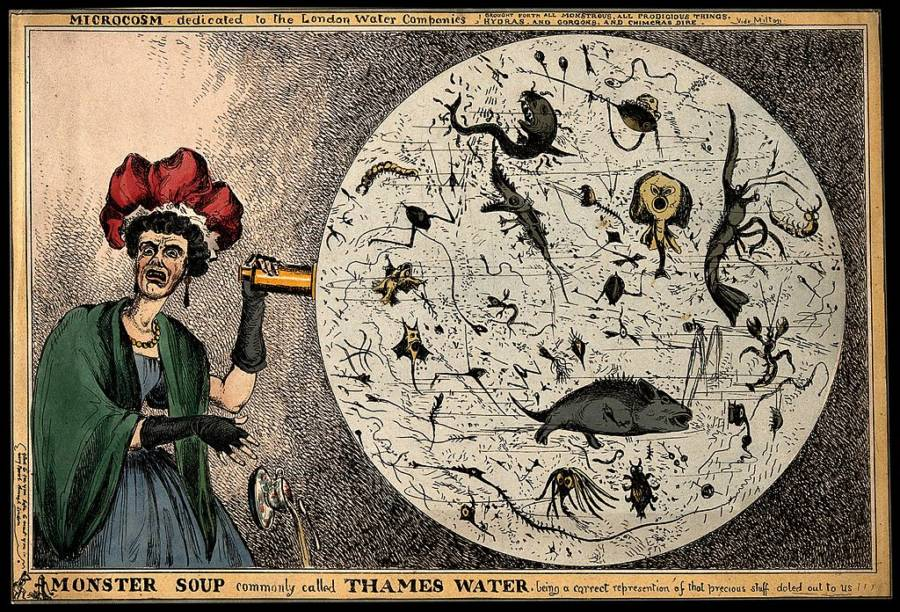 Great Stink London Monsters