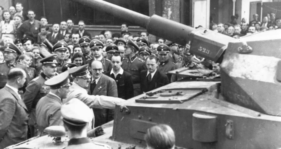 Hitler Tank Barrel