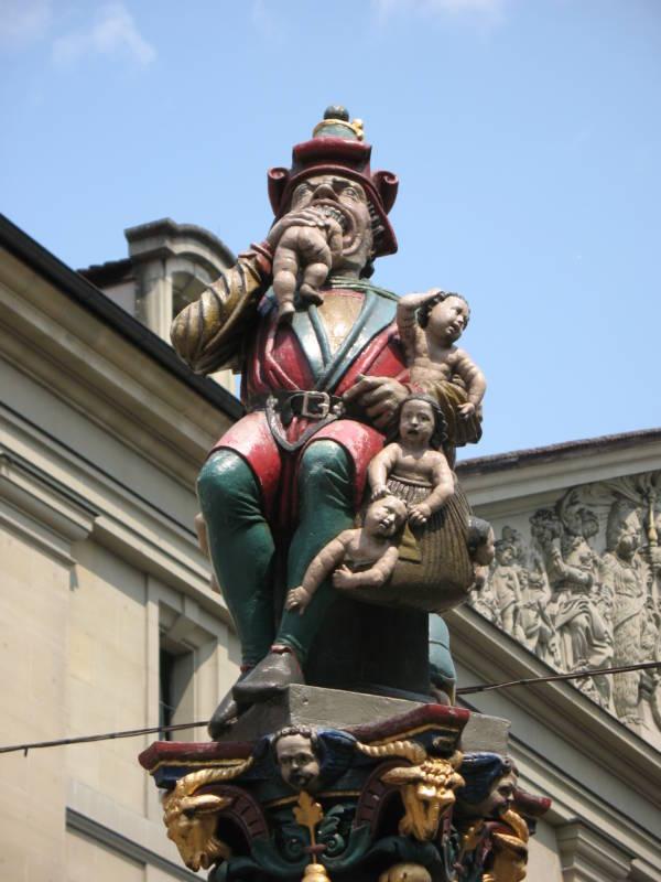 Kindlifresserbrunnen M Kornhausplatz