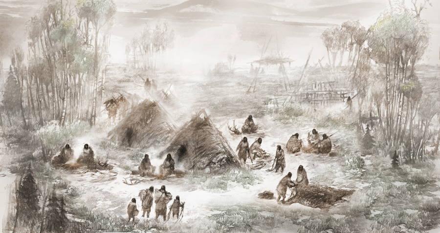 Beringian Upward Sun River Camp
