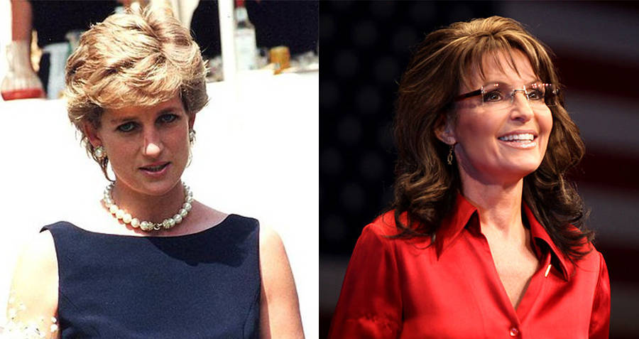 Princess Diana of Whales and Sarah Palin