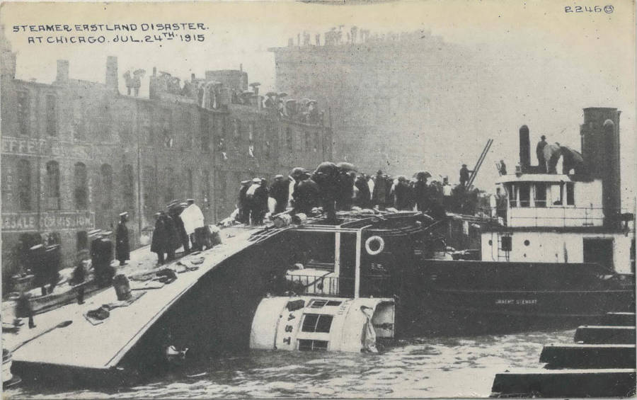 SS Eastland Disaster Aftermath