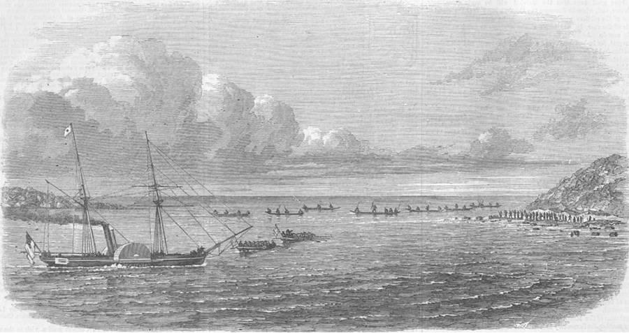 Ships Sail To Andamans