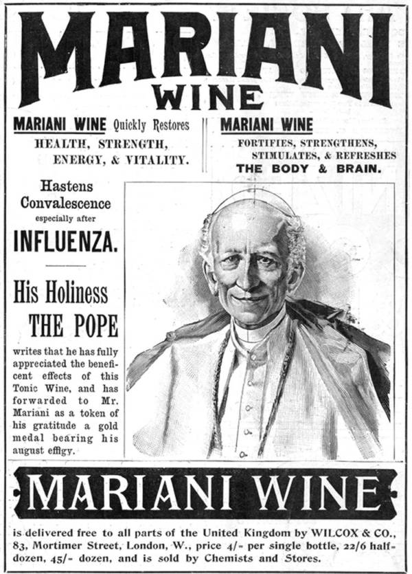 Pope Leo XIII And Vin Mariani