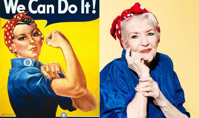 We Can Do It Rosie Riveter Classic War Poster Print New 1942