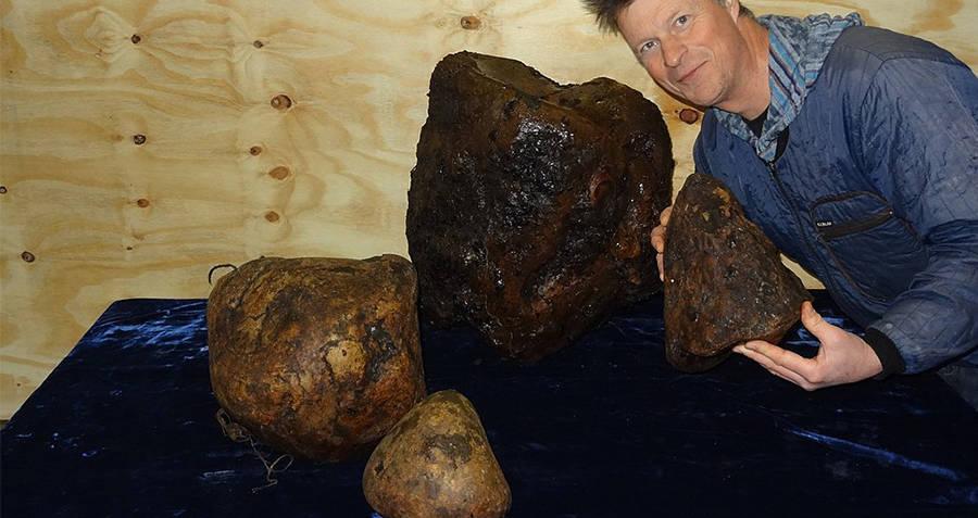 Ambergris Boulders On Display