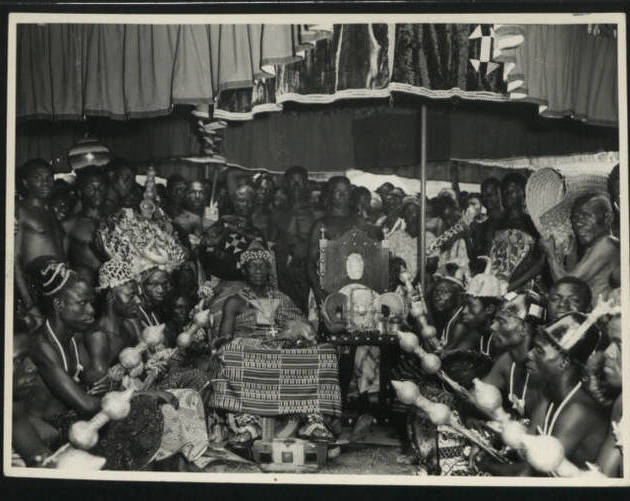 Ashanti Coronation In Kumasi