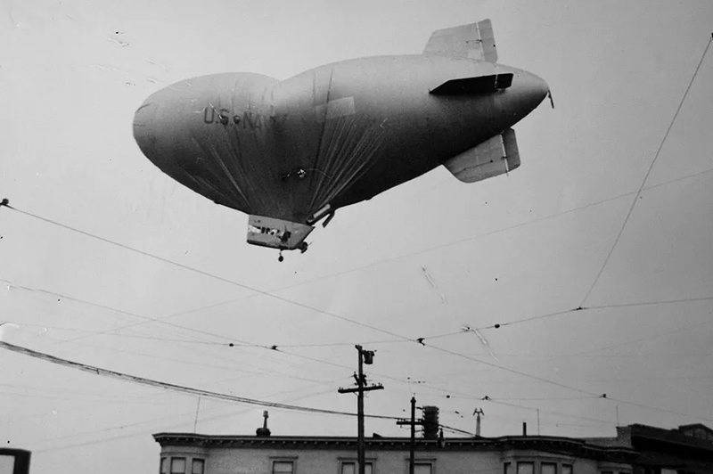 Blimp Over Daly City