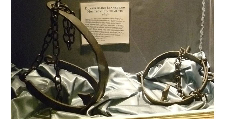 Bridles In Display Case