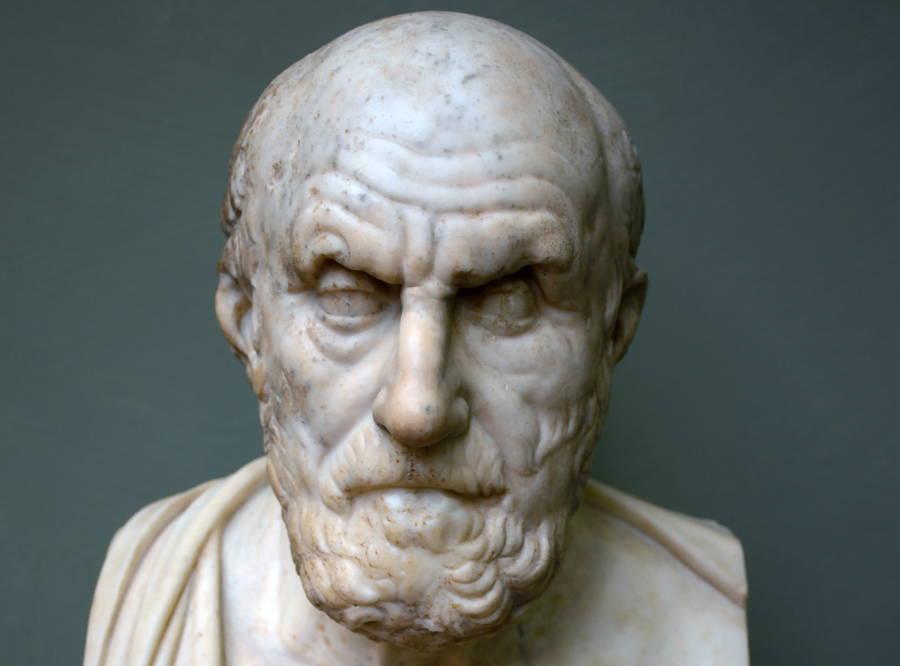 Bust Of Chrysippus