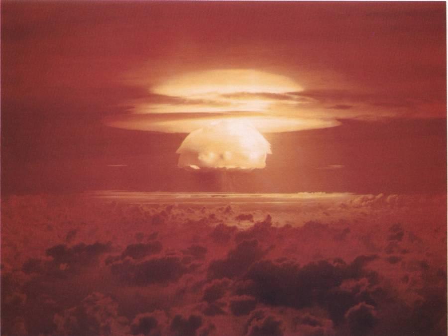 Castle Bravo Blast At Bikini Atoll