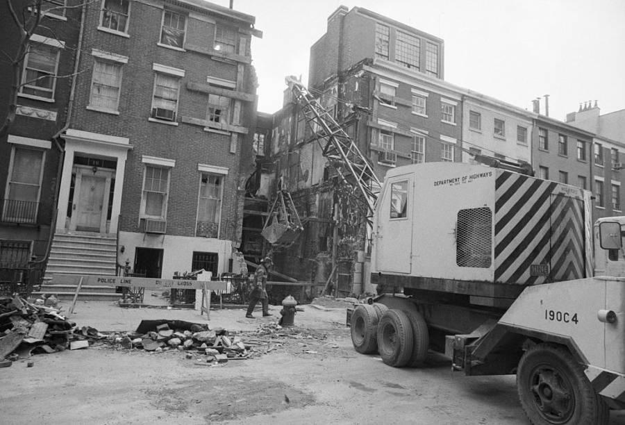 Greenwich Village Weathermen Explosion