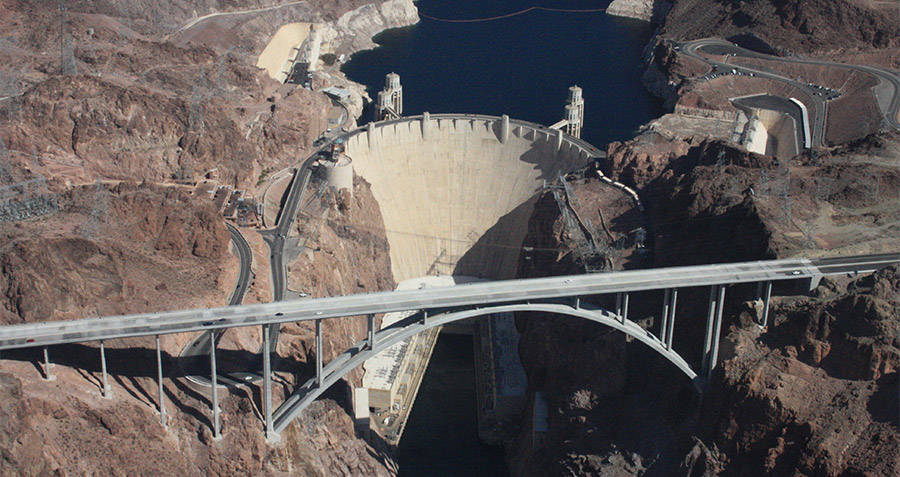 Hoover Dam Color