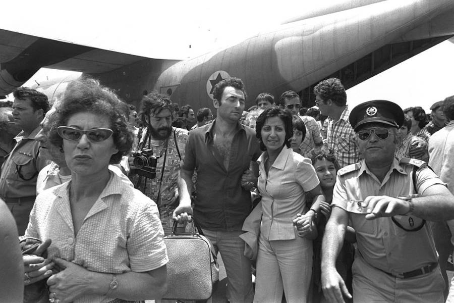 Operation Entebbe Hostages Released