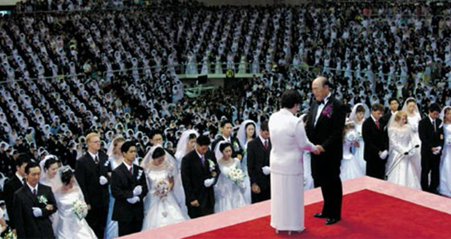 Unification Church Wedding
