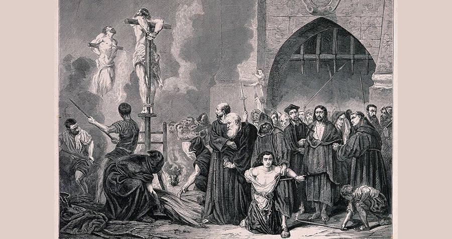 Spanish Inquisition Crucifixion
