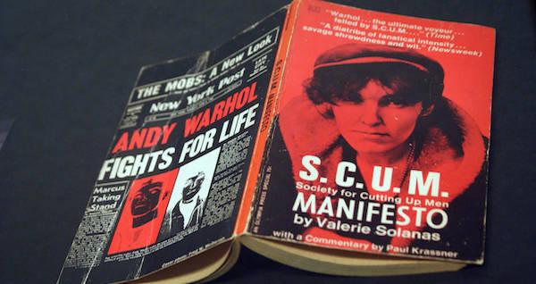 Valerie Solanas Scum Manifeso book