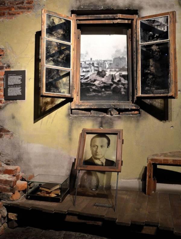 Wladyslaw Szpilman In Warsaw Uprising Museum