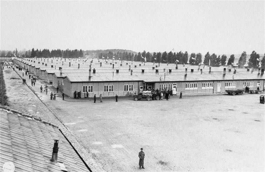 Dachau Concentration Camp Barracks
