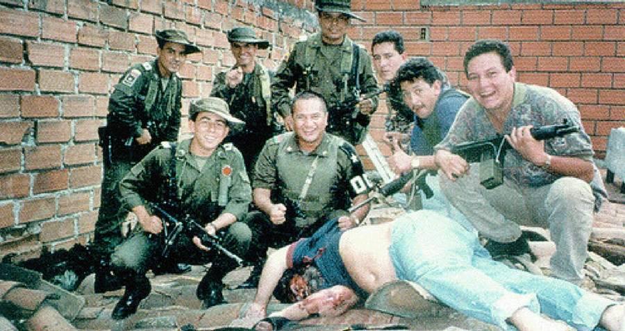 Pablos Escobar Death Photo