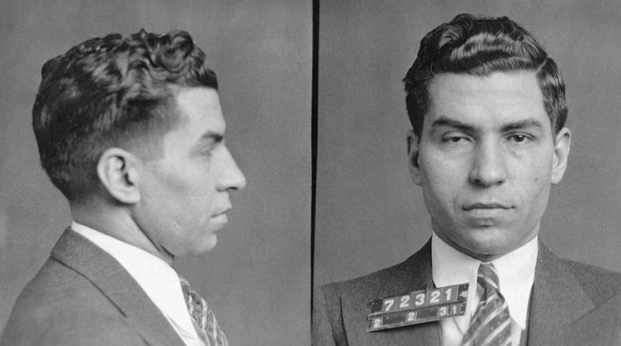 Mugshot Of Lucky Luciano