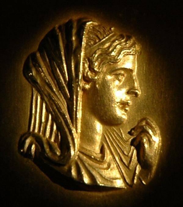 Queen Olympias Roman Coin