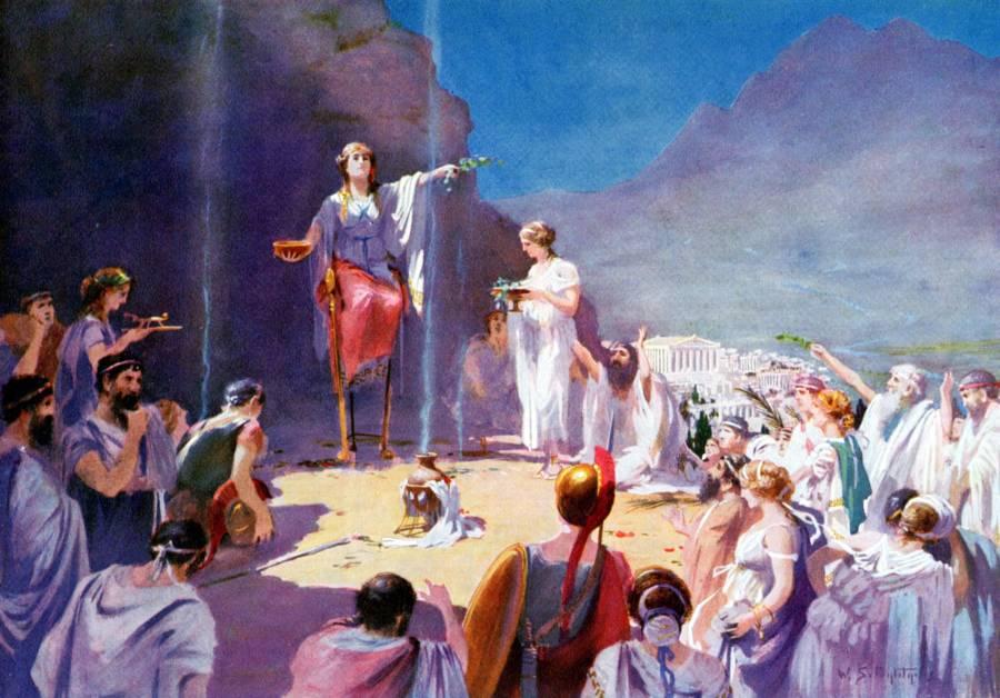 Pythia Oracle Of Delphi