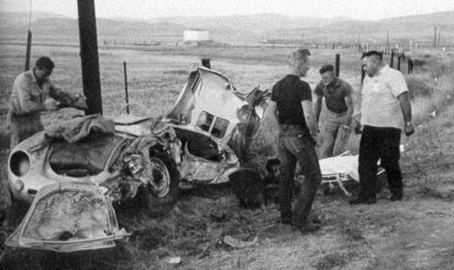 Haunting Photographs From James Dean's Fatal Car Wreck in