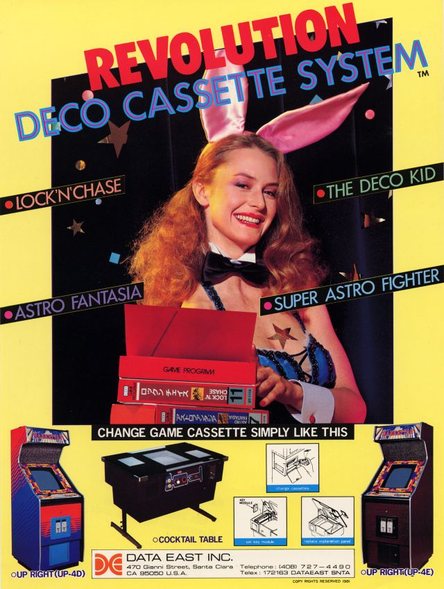 22 Cheesy Vintage Ads for Arcade and Video Games From